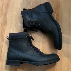 Very dark gray almost black Express Boots
